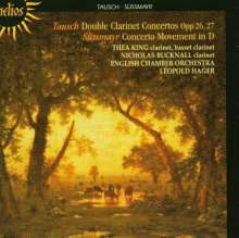 Franz Wilhelm Tausch (1762-1817): Konzerte für 2 Klarinetten & Orchester op.26 & 27, CD
