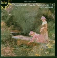 Cecile Chaminade (1857-1944): Klavierwerke Vol.3, CD