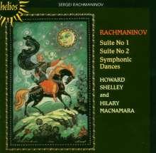 Sergej Rachmaninoff (1873-1943): Symphonische Tänze für zwei Klaviere op.45, CD