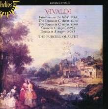 Antonio Vivaldi (1678-1741): Triosonaten RV 60,63,74,754,758, CD