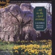 All in the April Evening - Englische Chorlieder, CD