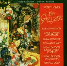 Sidney Jones (1861-1946): The Geisha, CD