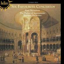 Thomas Arne (1710-1778): 6 Konzerte für Orgel/Klavier/Cembalo & Orchester, CD