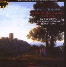 Georg Philipp Telemann (1681-1767): Oboenkonzerte d-moll & G-dur, CD
