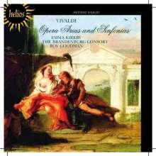 Antonio Vivaldi (1678-1741): Opernarien & Sinfonias, CD