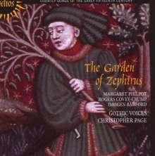 """Höfische Lieder des frühen 15.Jh. """"The Garden of Zephirus"""", CD"""