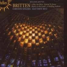 Benjamin Britten (1913-1976): Rejoice the Lamb - Kantate op.30, CD