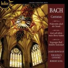 Johann Sebastian Bach (1685-1750): Kantaten BWV 54,169,170, CD