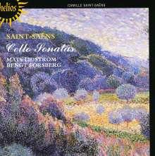 Camille Saint-Saens (1835-1921): Sonaten für Cello & Klavier Nr.1 & 2, CD