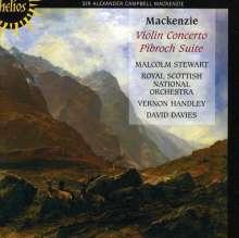 Alexander Mackenzie (1847-1935): Violinkonzert op.32, CD