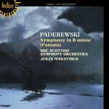 "Ignaz Paderewski (1860-1941): Symphonie h-moll op.24 ""Polonia"", CD"