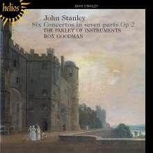 John Stanley (1713-1786): Six Concertos in Seven Parts op.2, CD