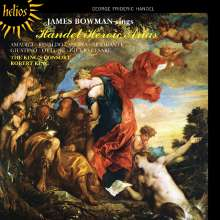 James Bowman - Händel Heroic Arias, CD