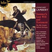 Constant Lambert (1905-1951): Summer's last Will and Testament, CD