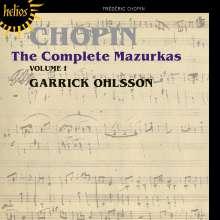 Frederic Chopin (1810-1849): Sämtliche Mazurken Vol.1, CD