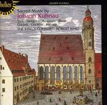 Johann Kuhnau (1660-1722): Geistliche Werke, CD