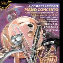 Constant Lambert (1905-1951): Concerto für Klavier & 9 Instrumente, CD