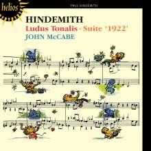 Paul Hindemith (1895-1963): Ludus Tonalis, CD