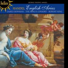 "Georg Friedrich Händel (1685-1759): Arien & Duette aus Opern & Oratorien ""English Arias"", CD"