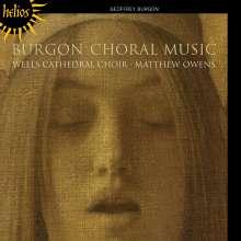 Geoffrey Burgon (1941-2010): Geistliche Chorwerke, CD