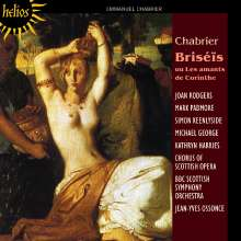 Emmanuel Chabrier (1841-1894): Briseis (unvollendete Oper/1.Akt), CD