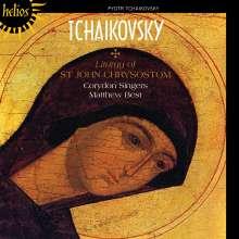 Peter Iljitsch Tschaikowsky (1840-1893): Die Liturgie des Hl.J.Chrisostomus op.41, CD