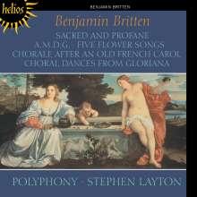 Benjamin Britten (1913-1976): Sacred and Profane op.91, CD
