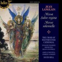Jean Langlais (1907-1991): Messe Solennelle, CD