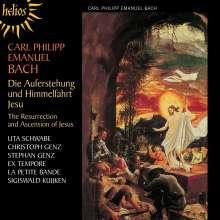 Carl Philipp Emanuel Bach (1714-1788): Auferstehung und Himmelfahrt Jesu, CD