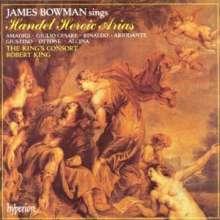 James Bowman - Heroische Händel-Arien, CD