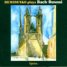 Johann Sebastian Bach (1685-1750): Transkriptionen für Klavier Vol.1 (Ferruccio Busoni), CD