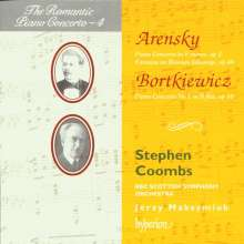 Serge Bortkiewicz (1877-1952): Klavierkonzert Nr.1 op.16, CD