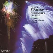 Christopher Herrick - Organ Fireworks 5, CD