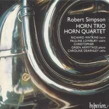 Robert Simpson (1921-1997): Quartett f.Horn,Violine,Cello,Klavier, CD