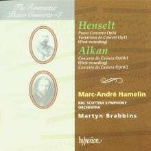 Charles Alkan (1813-1888): 2 Concerti da camera op.10 für Klavier & Orchester, CD