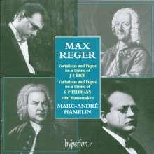 Max Reger (1873-1916): Variationen & Fuge über ein Bach-Thema op.81, CD