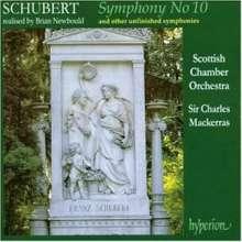 Franz Schubert (1797-1828): Symphonische Fragmente D.615 & 708a, CD