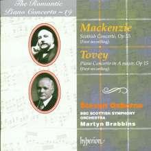 Donald Francis Tovey (1875-1940): Klavierkonzert op.15, CD