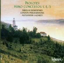Serge Prokofieff (1891-1953): Klavierkonzerte Nr.1,4,5, CD