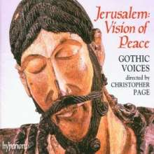 Jerusalem:Vision of Peace, CD
