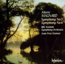 Alberic Magnard (1865-1914): Symphonien Nr.3 & 4, CD