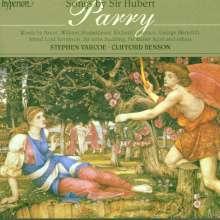 Hubert Parry (1848-1918): Lieder, CD