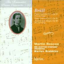 Ignaz Brüll (1846-1907): Klavierkonzerte Nr.1 & 2, CD