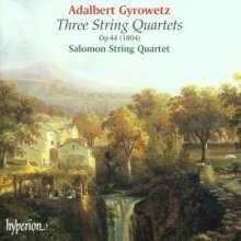 Adalbert Gyrowetz (1763-1850): Streichquartette op.44 Nr.1-3, CD