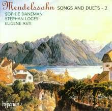 Felix Mendelssohn Bartholdy (1809-1847): Lieder Vol.2, CD