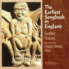 The Earliest Songbook in England, CD