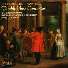 Karl Ditters von Dittersdorf (1739-1799): Kontrabaßkonzerte Nr.1 & 2, CD