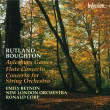 Rutland Boughton (1878-1960): Konzert für Streicher, CD