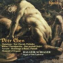 Petr Eben (1929-2007): 10 Choralvorspiele, CD