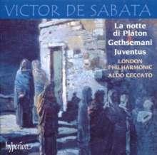 Victor de Sabata (1892-1967): La Notte di Platon, CD